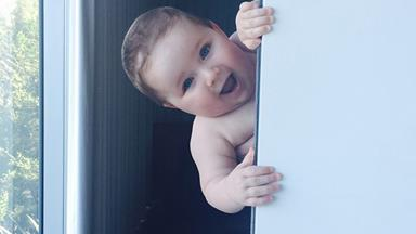 Happy first birthday to Hamish and Zoe Blake's little boy, Sonny!
