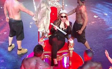 It's getting hot in here! Mariah Carey gets a raunchy lapdance from Tyson Beckford