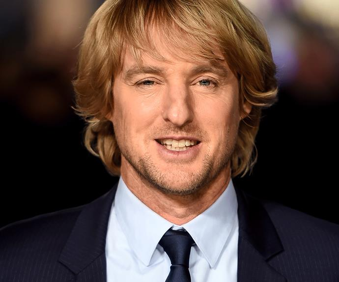 "Owen Wilson loves saying ""wow"""