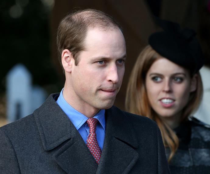 Prince William and Princess Beatrice