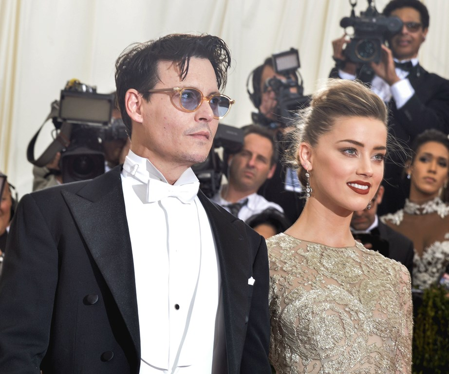 Johnny Depp and Amber Heard have since divorced, with claims he was physically abusive during their union.