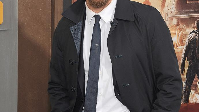 British actor Tom Hardy