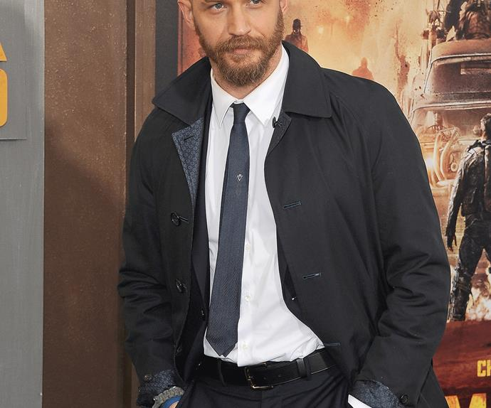 British actor Tom Hardy