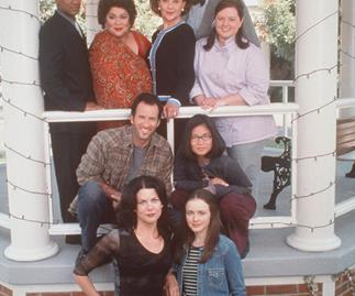 The cast of Gilmore Girl
