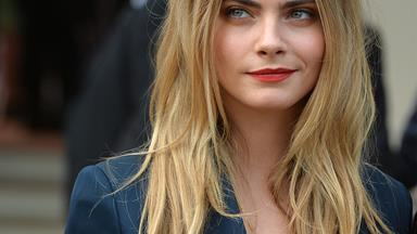 Sneak peek of Cara Delevingne's new Mango campaign but who is her mystery co-star?