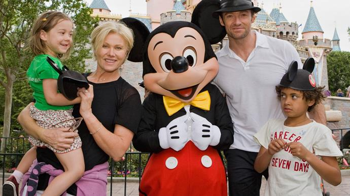 hugh jackman at disneyland