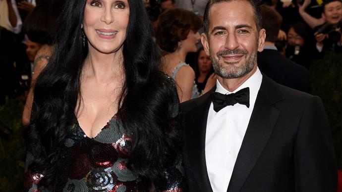 Cher and Marc Jacobs