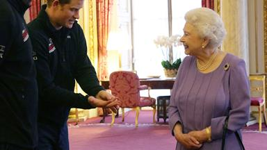 To Sir, with love: The Queen gives grandson Prince Harry a knighthood