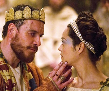 Gruesome, moody and violet: the trailer for Shakespeare's Macbeth is perfect!