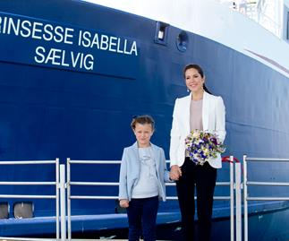 Princess Isabella of Denmark and Crown Princess Mary