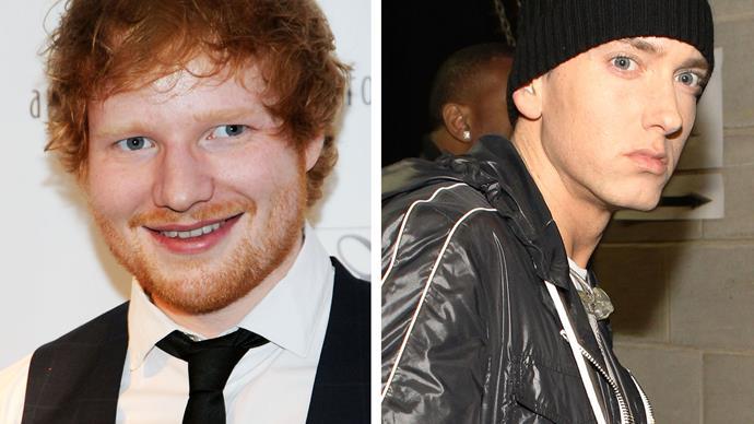 Ed Sheeran and Eminem