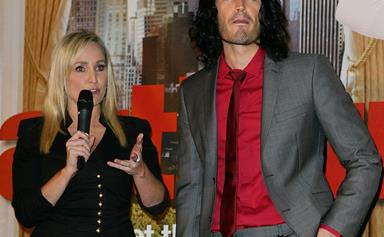 """It's not Russell Brand!"" Fifi Box responds to comedian's claims he's the father of her daughter"