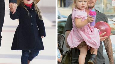 Harper Beckham is the ultimate tomboy-fashionista