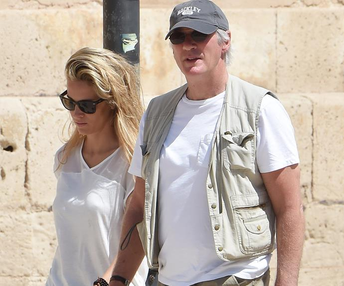 Richard Gere snapped with his new rumour girlfriend Alejandra Silva
