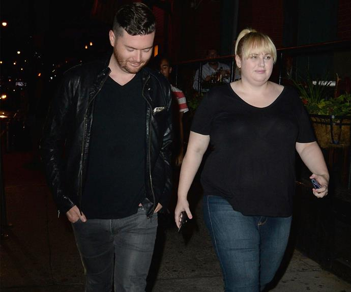 Rebel Wilson and Mickey Gooch Jr