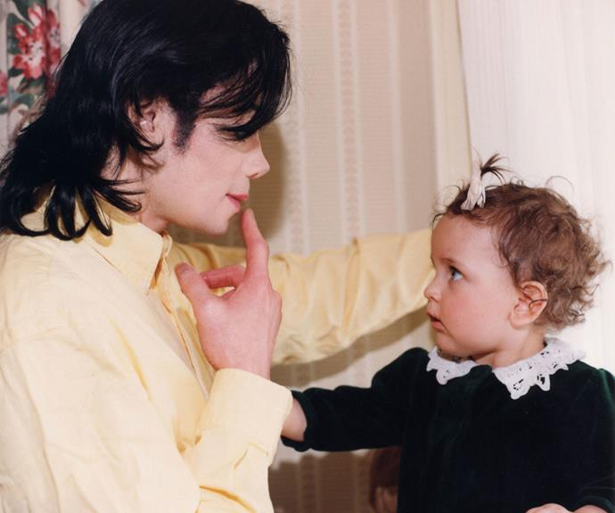 Paris and Michael Jackson