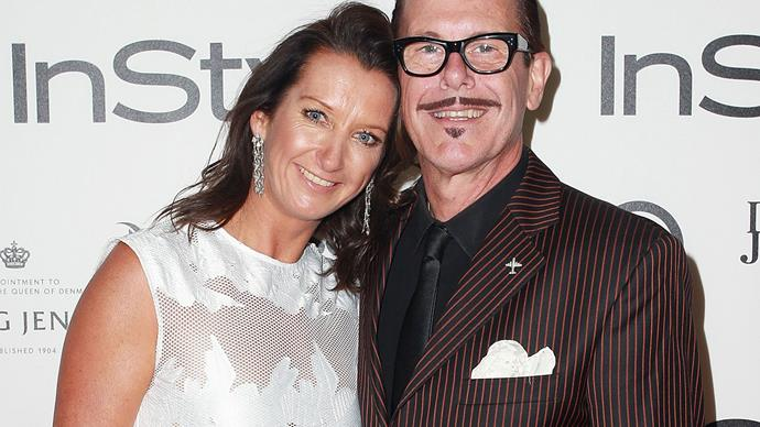 Layne Beachley and Kirk Pengilly