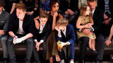 "Victoria Beckham reveals that she would love Harper ""to go into fashion"""