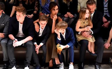"""Victoria Beckham reveals that she would love Harper """"to go into fashion"""""""
