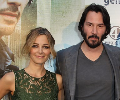 Keanu Reeves dating Aussie actress Bojana Novakovic