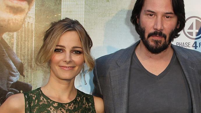 Keanu Reeves and Bojana Novakovic