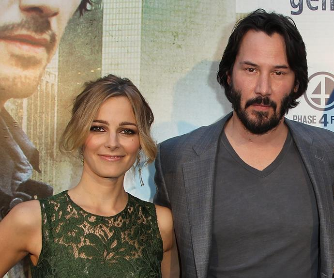Keanu Reeves and Bojana Novakovic