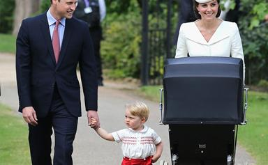 Inside the christening of Princess Charlotte Elizabeth Diana of Cambridge