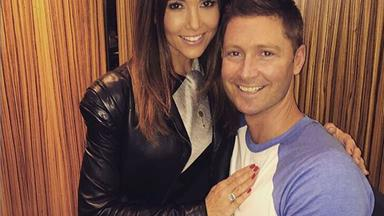 Michael and wife Kyly Clarke are expecting their first child!