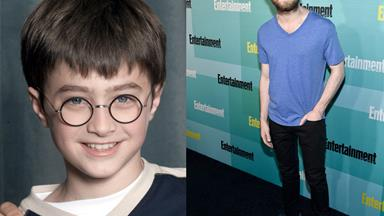 Daniel Radcliffe's magical transformation