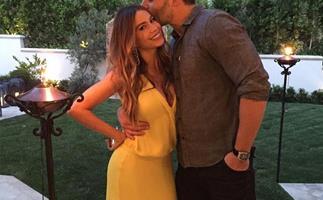 Sofia Vergara had a very happy 43rd birthday with Joe Manganiello and her family