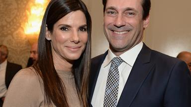 Are Sandra Bullock and Jon Hamm mad for each other?