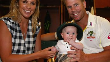 Candice and David Warner announce they are expecting their second child