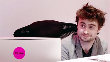 Prank reveals that Daniel Radcliffe is a TERRIBLE receptionist