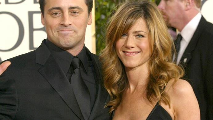 Matt LeBlanc and Jennifer Aniston