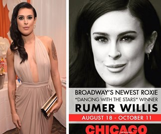 Rumer Willis is dancing her way onto Broadway to play Chicago's Roxie Hart