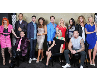 The cast of 2015 Celebriyt Apprentice