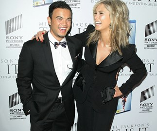 Guy Sebastian and Delta Goodrem