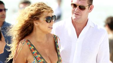 """James is in my heart tonight!"" Mariah Carey dedicates a song to James Packer"