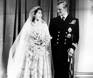 The look of love: New footage from Queen Elizabeth and Prince Philip's 1947 wedding released