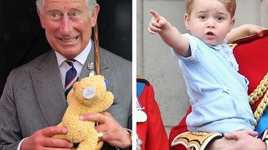 I'm the King of the castle! Prince Charles refurbishes William's childhood treehouse for George
