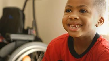 Eight-year-old boy Zion Harvey has received the world's first double hand transplant