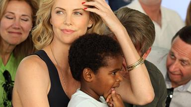 Charlize Theron adopts a baby girl following her split from Sean Penn