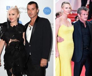 Gwen stefani, Gavin Rossdale, Charlize Theron, Sean Penn