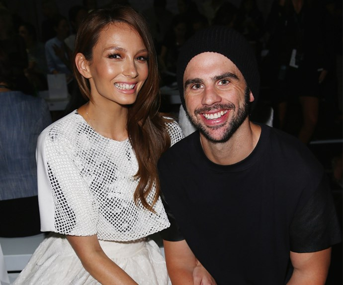 Ricki-Lee Coulter and fiance, Richard Harrison
