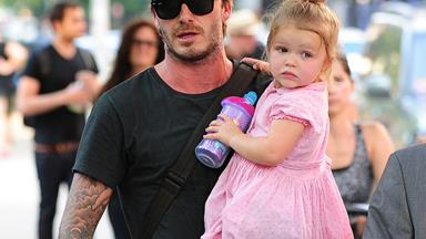 """""""You have no right to criticize me as a parent!"""" David Beckham hits back over Harper's dummy"""