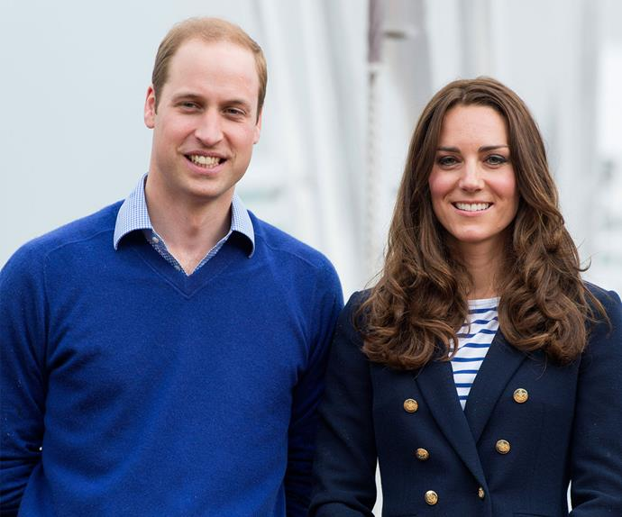 Kate Middleton, Duchess of Cambridge, and Prince William