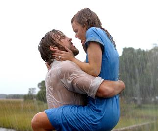 The Notebook Allie and Noah kiss