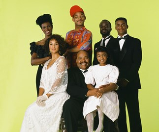 The cast of Fresh Prince of Bel Air