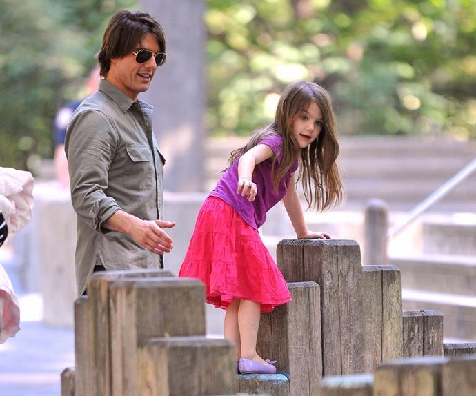 Tom Cruise and Suri Cruise