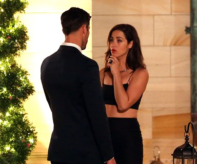 Jacinda walks out of The Bachelor mansion straight into the arms of another man!